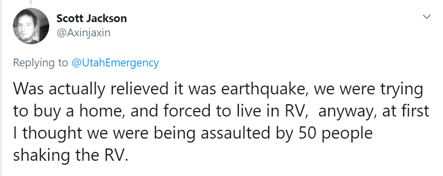 dreaming RV was being assaulted